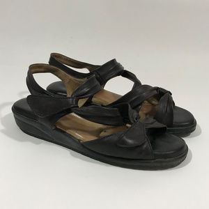 BeautiFeel VENEZUELA Blk Soft Leather with Velcro